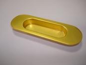 Ручка врезная 7870 матовое золото