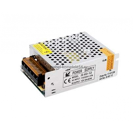 Блок питания 60W.12V.3.5A, IP20