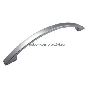 Ручка-скоба 301 хром  матовый128мм