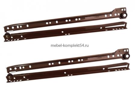 Направляющие д/ящ. 600мм коричневый