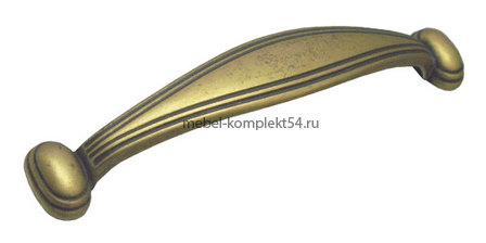 Ручка скоба RS098 АВ бронза, 96мм