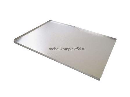 Алюминиевый поддон для ящика под раковину 800мм