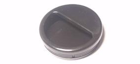 Ручка врезная Ф50 мм металлик серый