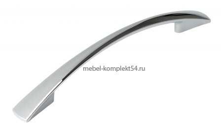 Ручка-скоба 1052, хром, 128мм