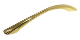 Ручка-скоба 1053, золото 128мм