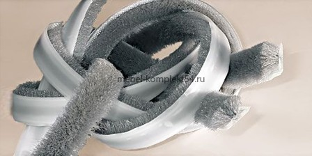Шлегель щетка, серый