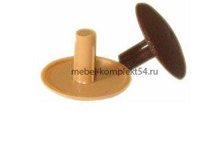 Заглушка крест орех